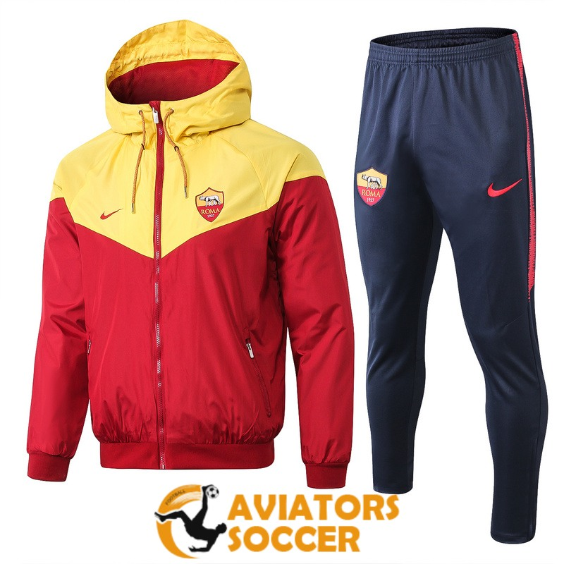 windbreaker as roma yellow red 2018 2019